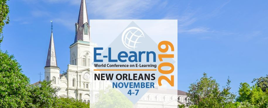 Join Us at the AACE E-Learn Conference in New Orleans!