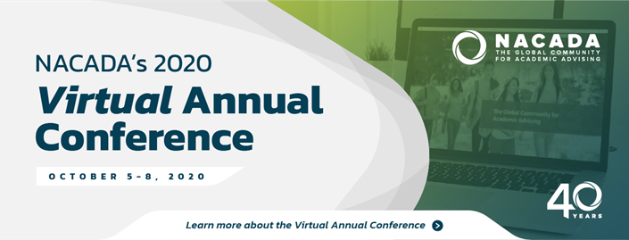 Join us at the NACADA Virtual Annual Conference!